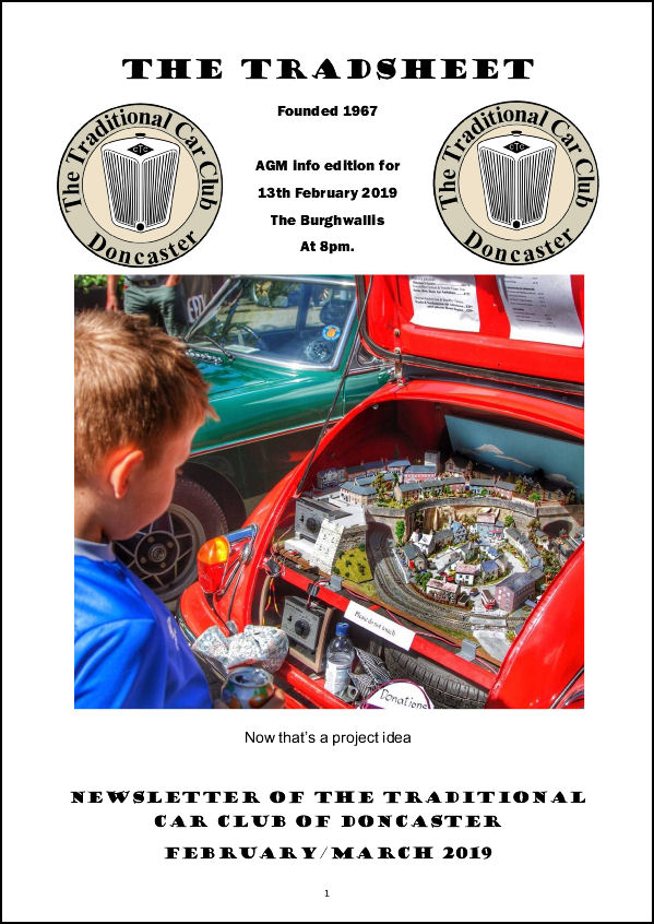 Tradsheet front cover Feb March 2019