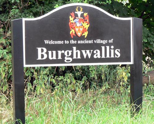 Burghwallis sign
